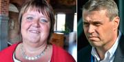 AnnSofie Andersson och Daniel Kindberg. Socialdemokraterna/TT