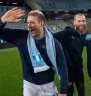 Ola Toivonen, Jo Inge Berget, Anders Christiansen och Eric Larsson. Johan Nilsson/TT / TT NYHETSBYRÅN