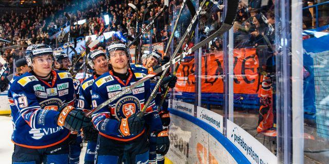 Växjö firar. JONAS LJUNGDAHL / BILDBYRÅN