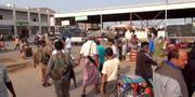 Arkivbild. Marknad i Hodeida den 7 november. STRINGER / AFP