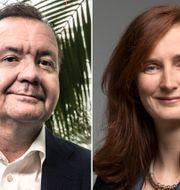 Karl-Henrik Sundström och Annica Bresky.  TT