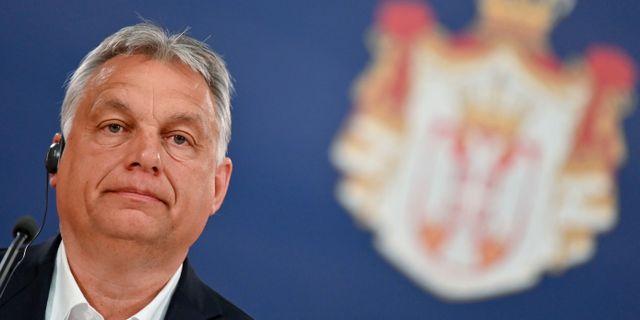 Viktor Orbán. ANDREJ ISAKOVIC / TT NYHETSBYRÅN