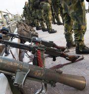 SAAB granatgevär av modell Carl-Gustaf M4 Fredrik Sandberg/TT / TT NYHETSBYRÅN