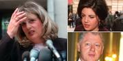 Linda Tripp, Monica Lewinsky och Bill Clinton TT