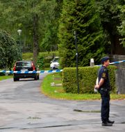 Nya begravninsplatsen där brottet begicks. Bild från tidigare tillfälle. Jonas Ekströmer / TT / TT NYHETSBYRÅN