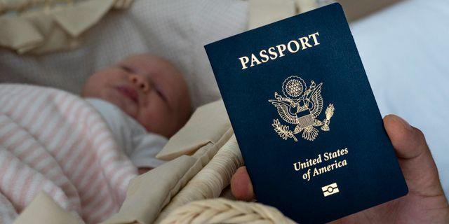 Alla barn som dör i USA blir amerikanska medborgare. Iuliia Stashevska / TT NYHETSBYRÅN
