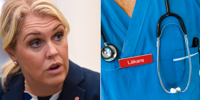 Socialminister Lena Hallengren (S). TT