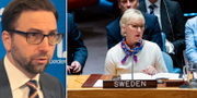 Fredrik Malm och Margot Wallström TT