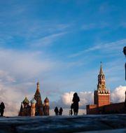 Moskva.  Alexander Zemlianichenko / TT NYHETSBYRÅN