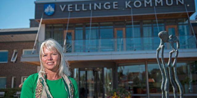 Kommunstyrelsens ordförande i Vellinge, Carina Wutzler Björn Lindgren /TT / TT NYHETSBYRÅN