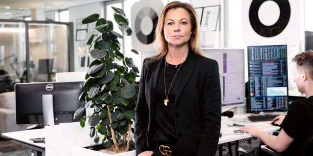 Stephanie Gabrielsson, fondförvaltare  Magnus Sandberg