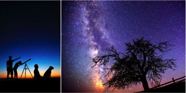 Ett meteorregn är en större mängd stjärnfall, som visar sig under en begränsad tid. Istock