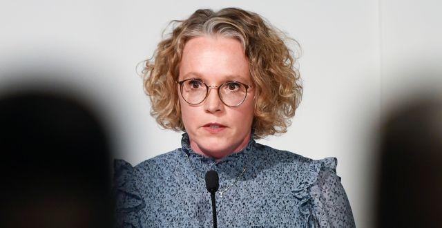 Britta Björkholm Carl-Olof Zimmerman/TT / TT NYHETSBYRÅN