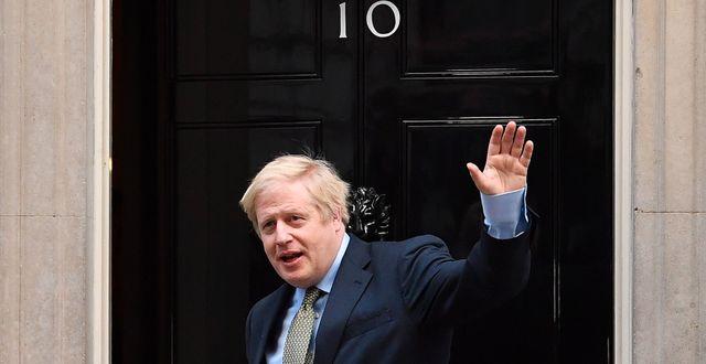 Boris Johnson.  BEN STANSALL / AFP
