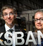 Vice riksbankschefer Martin Flodén och Cecilia Skingsley Tomas Oneborg / SvD / TT / TT NYHETSBYRÅN