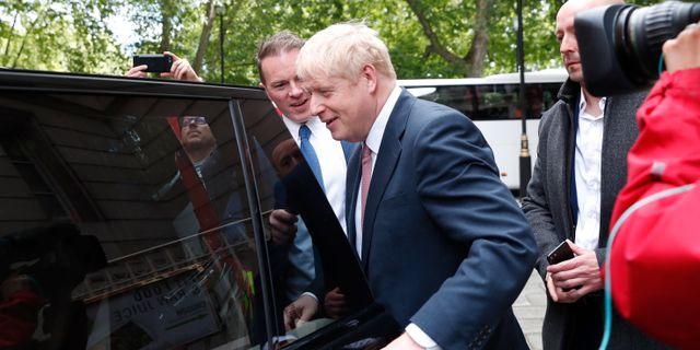 Boris Johnson. Alastair Grant / TT NYHETSBYRÅN