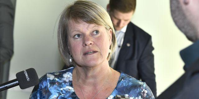 Ulla Andersson. Claudio Bresciani/TT / TT NYHETSBYRÅN