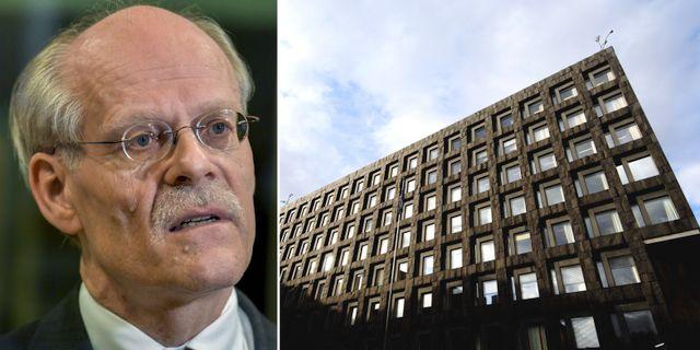 Stefan Ingves, riksbanksbyggnaden. Arkivbilder. TT
