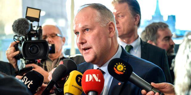 Jonas Sjöstedt (V). Anders Wiklund/TT / TT NYHETSBYRÅN