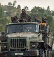 Etiopiska soldater i Tigray/Arkivbild Ben Curtis / TT NYHETSBYRÅN