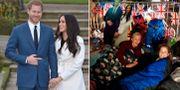 Prins Harry och Meghan Markle.  TT