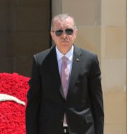 Erdogan. Arkiv. TT NYHETSBYRÅN