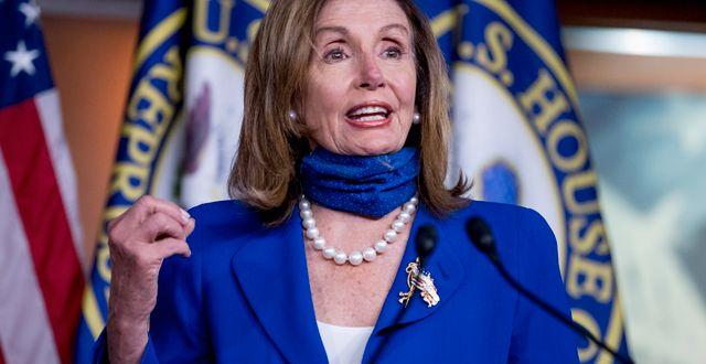 Demokraternas Nancy Pelosi. Andrew Harnik / TT NYHETSBYRÅN