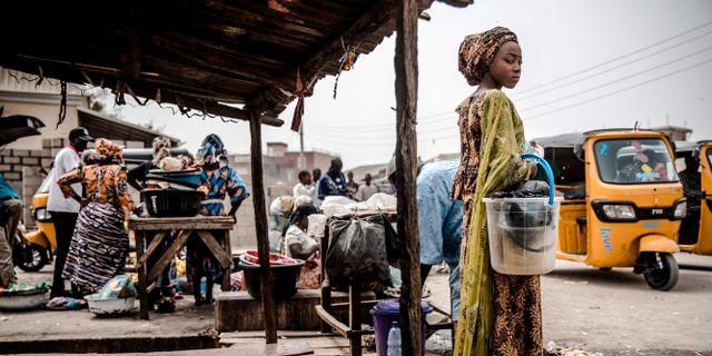 Bild från staden Mubi. LUIS TATO / AFP