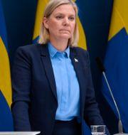 Magdalena Andersson (S). Henrik Montgomery/TT / TT NYHETSBYRÅN