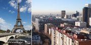 Arkivbilder: Paris och Madrid. TT