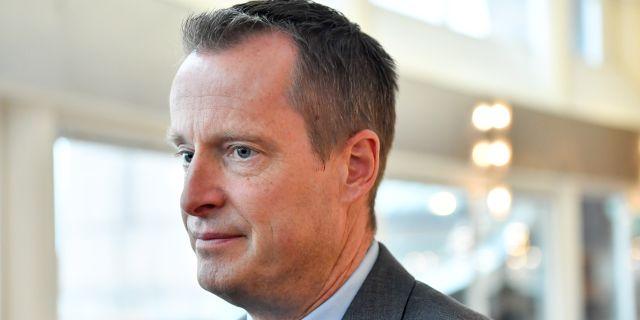 Anders Ygeman (S). Henrik Montgomery/TT / TT NYHETSBYRÅN