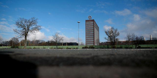 Volkswagens tomma parkering. Illustrationsbild.  RONNY HARTMANN / TT NYHETSBYRÅN
