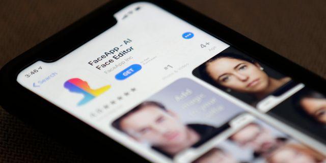 Faceapp. Jenny Kane / TT NYHETSBYRÅN/ NTB Scanpix