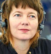 Malin Björk, Vänsterpartiet. Fredrik Persson/TT / TT NYHETSBYRÅN