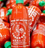 Srirachasås. Nick Ut / TT NYHETSBYRÅN