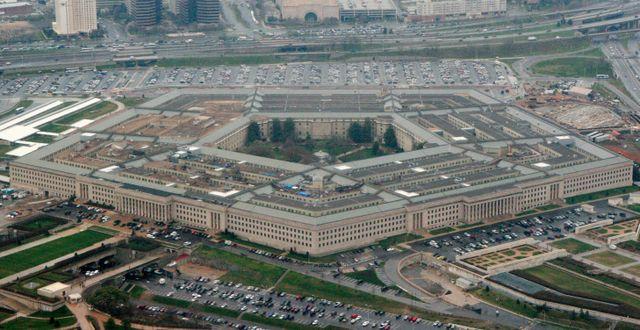 Pentagons högkvarter i Washington DC. Charles Dharapak / TT NYHETSBYRÅN
