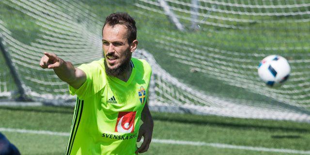 Emir Kujovic. JONATHAN NACKSTRAND / AFP