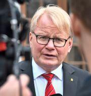 Försvarsminister Peter Hultqvist. Claudio Bresciani/TT / TT NYHETSBYRÅN