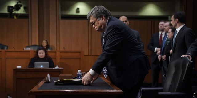 William Barr ALEX WONG / GETTY IMAGES NORTH AMERICA