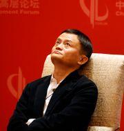 Jack Ma. Arkivbild.  Mark Schiefelbein / TT NYHETSBYRÅN