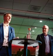 Arkivbild: Castellums vd Henrik Saxborn tillsammans med United Spaces grundare Göran Garberg.  Emma-Sofia Olsson/SvD/TT / TT NYHETSBYRÅN