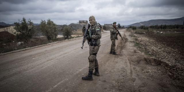 Fria syriska armén, arkivbild. TT / NTB Scanpix