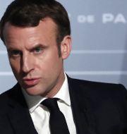 Emmanuel Macron. POOL / TT NYHETSBYRÅN