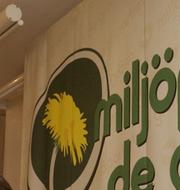 Miljöpartiets logga/Arkivbild TT