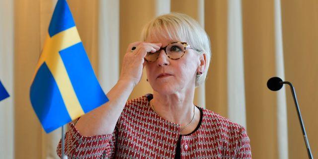 Margot Wallström (S)  Jessica Gow/TT / TT NYHETSBYRÅN