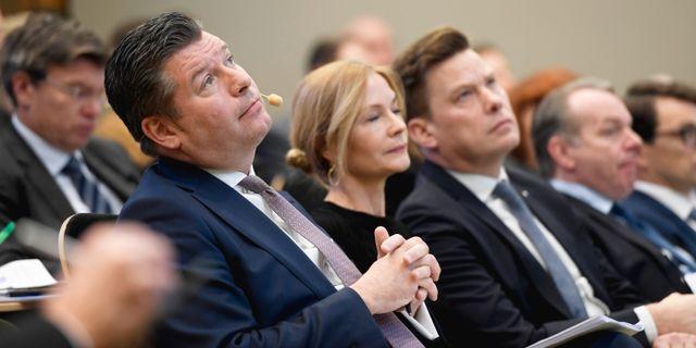 SEB:s vd Johan Torgeby.  Stina Stjernkvist/TT / TT NYHETSBYRÅN