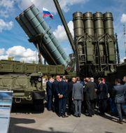 Nya ryska vapen visas upp Pavel Golovkin / TT NYHETSBYRÅN