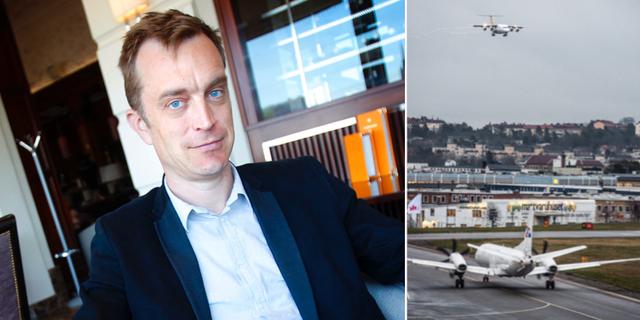 Viggo Cavling / Bromma flygplats TT