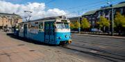 Spårvagn i Göteborg. Adam Ihse/TT / TT NYHETSBYRÅN