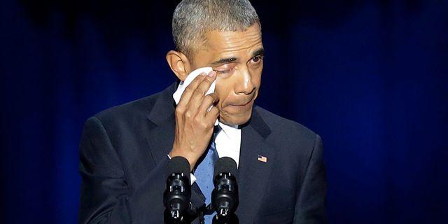 Barack Obama JOSHUA LOTT / AFP